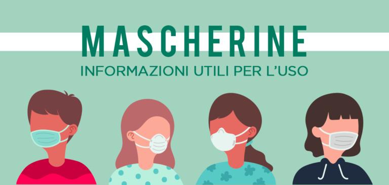 Mascherine: consigli d'utilizzo e di sanificazione.