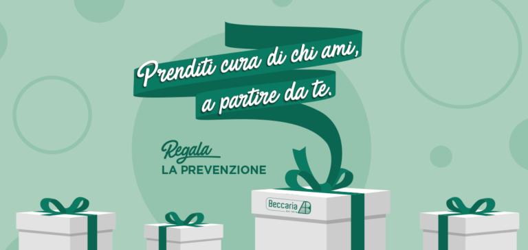 Gesti d'amore: regala la prevenzione