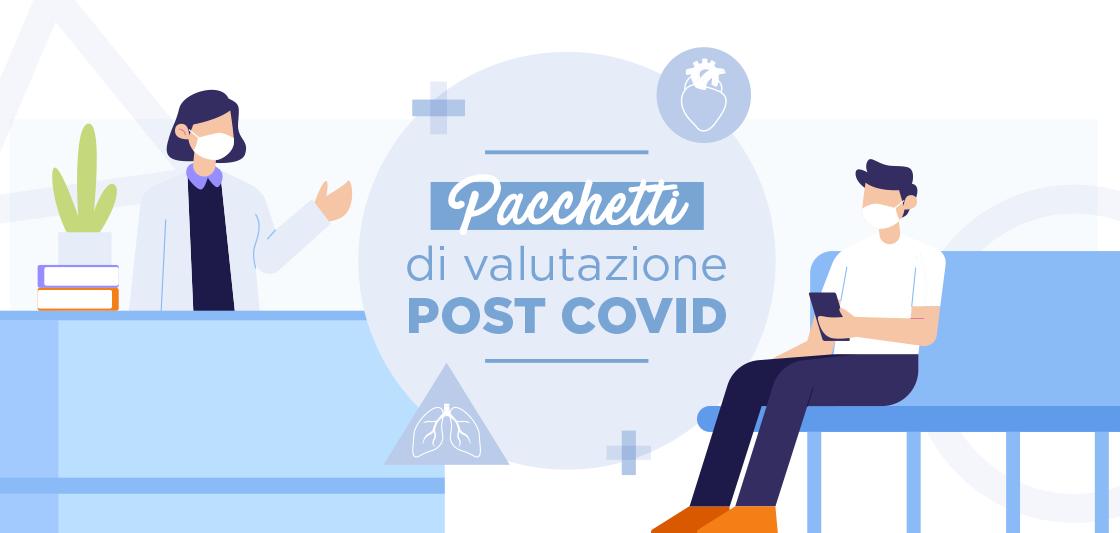 Valutazione post Covid: un ambulatorio dedicato a chi ha contratto il virus.