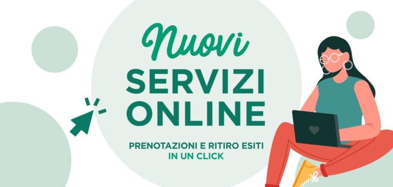 Nuovi servizi web: gestisci i tuoi appuntamenti dal sito.