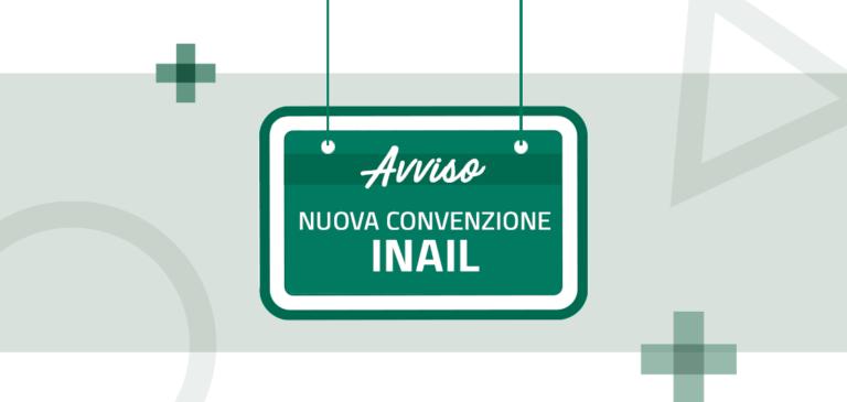 Attiva convenzione INAIL per infortuni sul lavoro