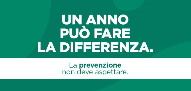 Read more about the article La prevenzione non deve aspettare