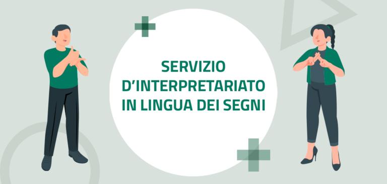 Read more about the article Servizio d'interpretariato in lingua dei segni